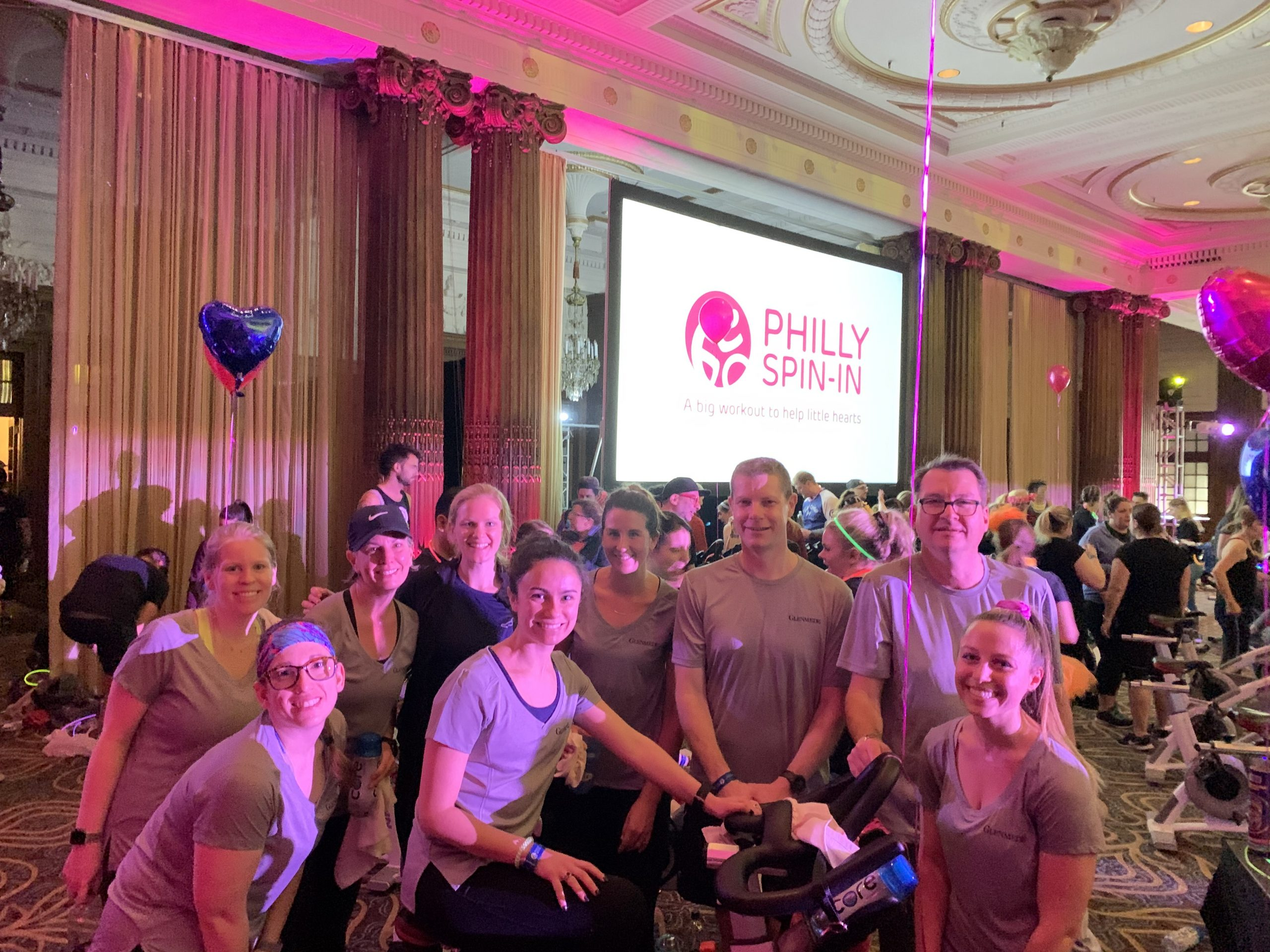 Stewardship - Philly spin-in for employee health and wellness